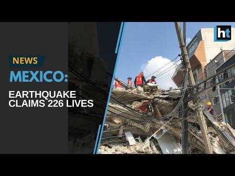 Hundreds killed as powerful earthquake jolts Mexico