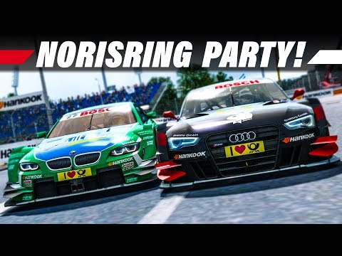 RaceRoom Racing Experience – DTM 2013 #9: Norisring Rennen | 4K Gameplay German