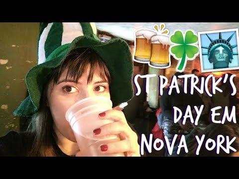 DOZE HORAS DE PUB CRAWL | St. Patrick's Day em Nova York