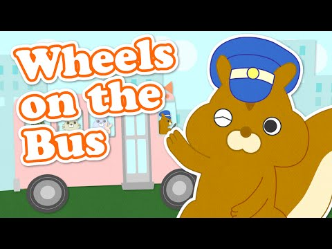 Wheels On The Bus | Part1 | Children Nursery Rhyme | Kids Songs | Baby Puff Puff