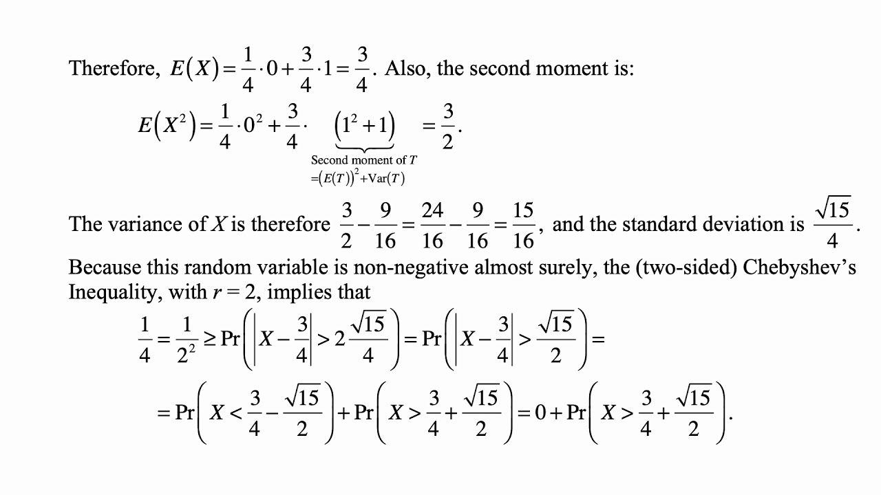 Exam P exercise for March 5, 2019