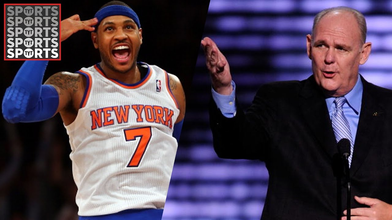 George Karl Rips Carmelo Anthony, JR Smith and Kenyon