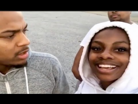 Bow Wow Fan Nails The Bow Wow Challenge Right In Front Of Him