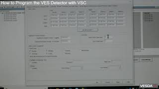 VESDA-E VES: How to Program the VES Detector with VSC