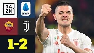 Die alte Dame ist zurück an der Spitze: AS Rom - Juventus 1:2 | Serie A | DAZN