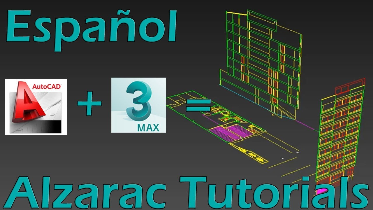 3ds max tutorial basico distribuir información de autocad en 3ds3ds max tutorial basico distribuir información de autocad en 3ds max