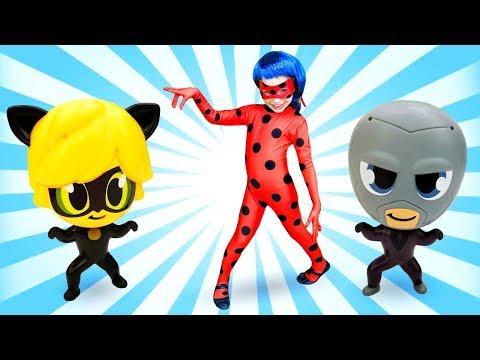 Леди Баг против Чиби Бражника! Видео онлайн! Куклы и игры для двочек