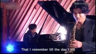エルヴィス・コステロさんの曲をカバーしてます。 K さんの声と武田真治...