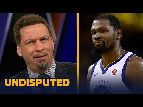 Chris Broussard on how Kevin Durant damaged the NBA by joining the Warriors | NBA | UNDISPUTED