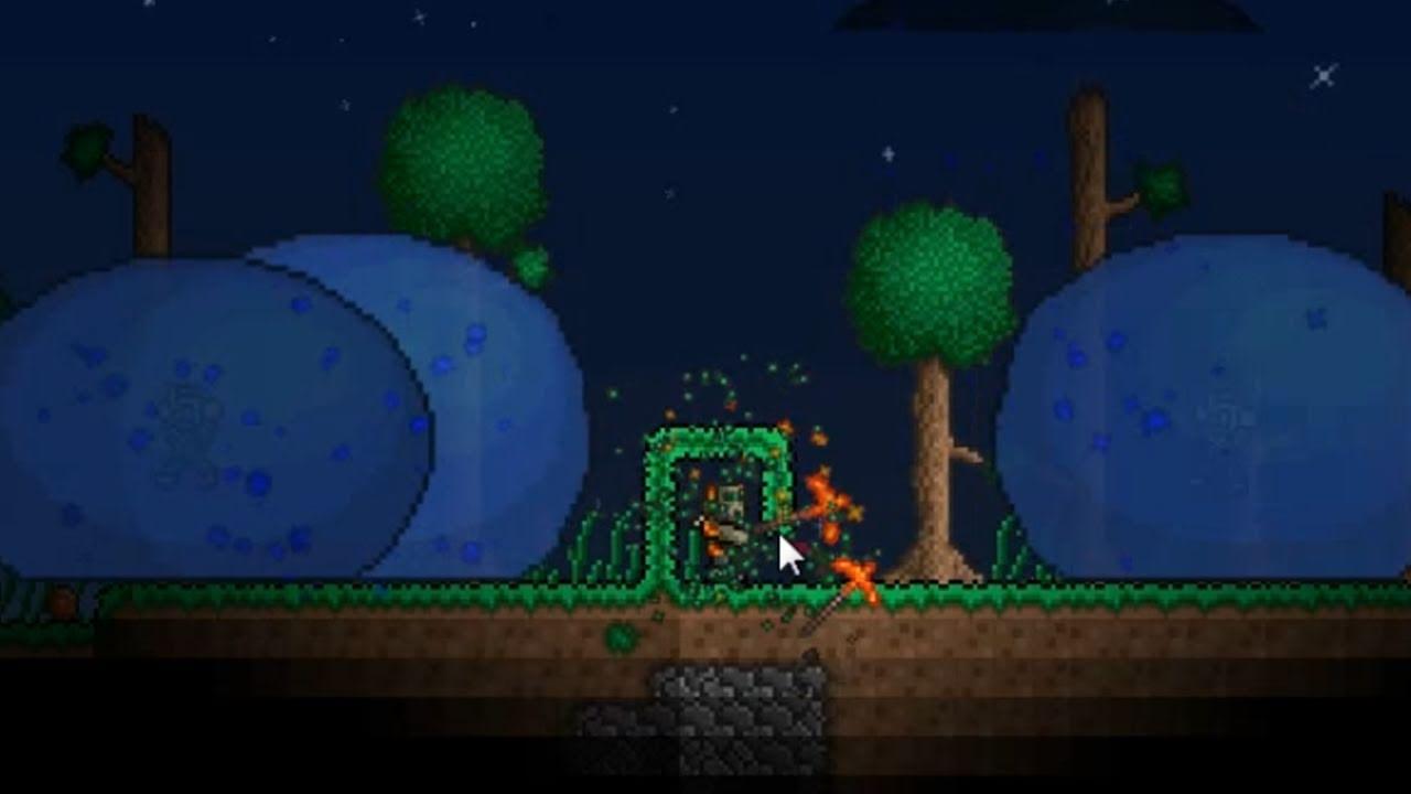 Terraria spawn king slime speed glitch youtube