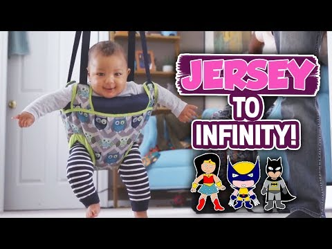 BABY UPDATE! JERSEY HAS SUPERPOWERS 😆