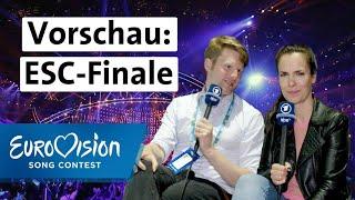 Die ESC-Final-Vorschau von Alina und Stefan | Eurovision Song Contest | NDR