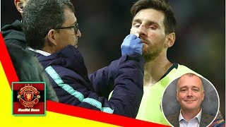 ManUtd News - You'll never put Lionel Messi's nose out of joint for too long — as Man Utd could f...