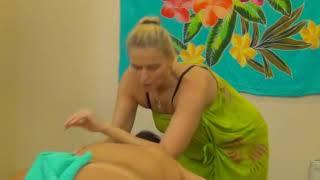 видео Гавайский массаж