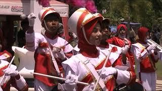 Drumband MTsN Empang pada Festival Taliwang 2017