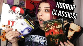 HORROR CLASSICS & SOME FAVORITES | HORROR DVD COLLECTION PART 3