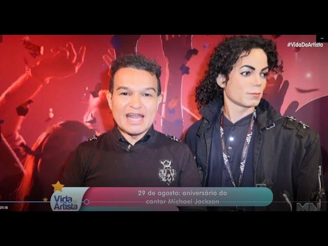 Michael Jackson homenagem de aniversário na tv - 28-08-2020