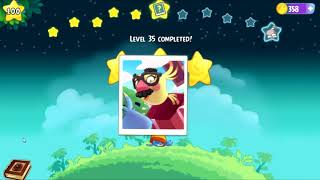 Angry Birds Stella - Unlock Willow Bird - Superpower Vortex Spin - Levels 34-39