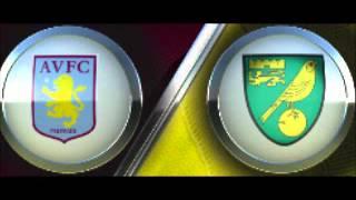Aston Villa Vs Norwich City 1-1 All Goals + Highlights / Goals: Benteke, Turner (fifa12)