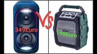 ОГРОМНАЯ SONY GTK-XB60 VS MAC AUDIO MRS 555 l Пашай