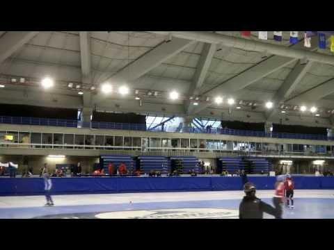 Intercontinental Short Track Invitational Ladies & Mens 1500 Meter Semi Final