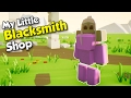 Glitched Customers & Tin Swords! - My Little Blacksmith Shop Gameplay