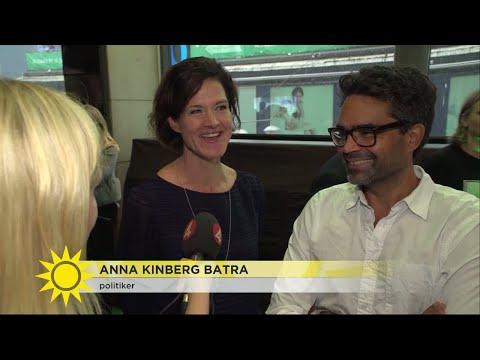 Anna Kinberg Batras känga till kollegorna under Björn Borg-premiär - Nyhetsmorgon (TV4)