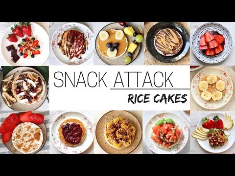 EASY VEGAN SNACKS » for after school & work (rice cakes part 1)