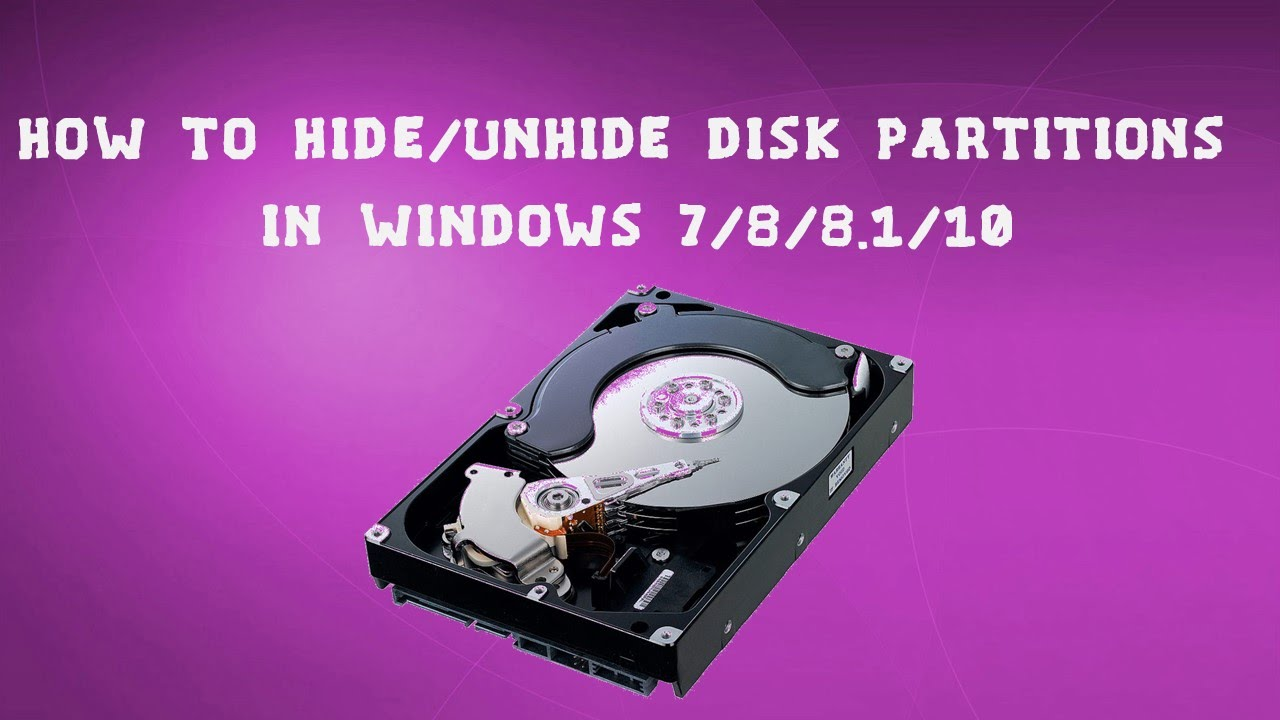 how to create disk partition in windows 8.1