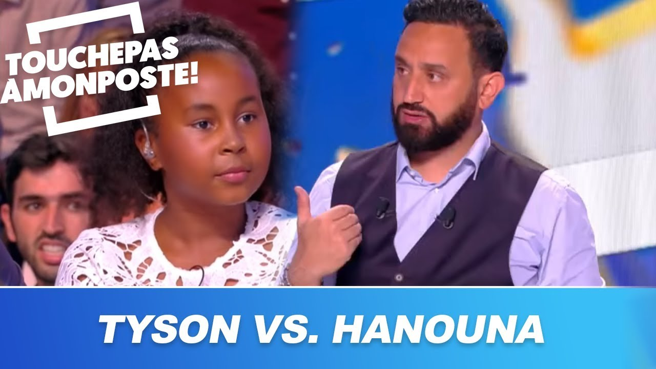 Cyril Hanouna affronte la fille de Mike Tyson au tennis !