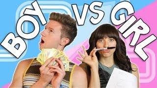 Repeat youtube video BOY vs GIRL | RICKY DILLON