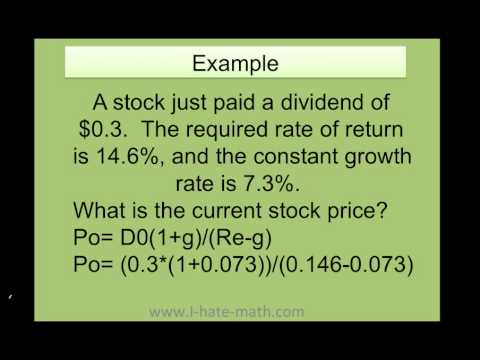 How to find the current stock price