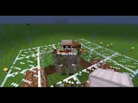 Tuto minecraft g n rateur de golems fer youtube - Minecraft golem de fer ...
