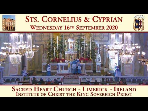 Wednesday 16th September 2020: Sts. Cornelius & Cyprian