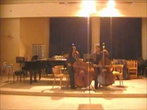 Dragonetti Duet For 2 Double Bass By Ahmad Osman And Samar Talaat