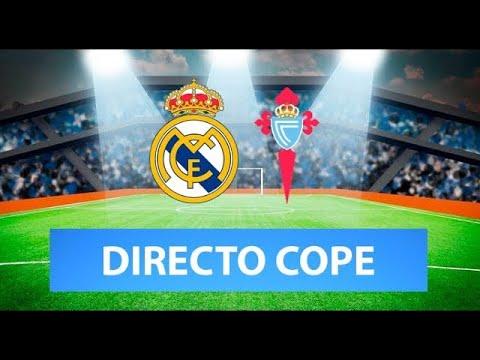 (SOLO AUDIO) Directo del Real Madrid 5-2 Celta en Tiempo de Juego COPE