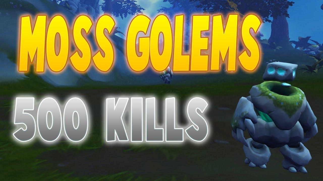 Runescape 2017 Loot From 500 Moss Golem Kills Dissapointed
