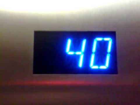 fast scrolling numbers 20s to 40th floor youtube