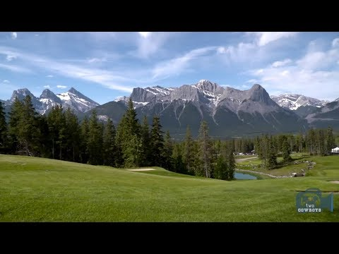 Two Cowboys Sinks A Put For The Canmore And Area Healthcare Foundation In Canmore, Alberta