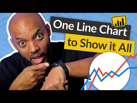 Analyze days from two months on one line chart in Power BI