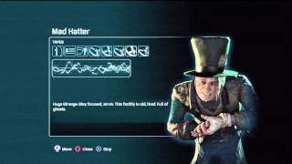 Batman arkham city Mad Hatter Tapes