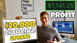 $20,000 STOCK MARKET GROWTH UPDATE | $1,142 PROFIT