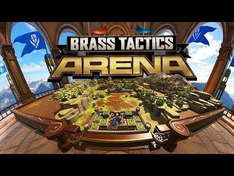 Brass Tactics - Empire Warfare In VR! - Tabletop RTS - Brass Tactics Arena Gameplay (Oculus Rift VR)