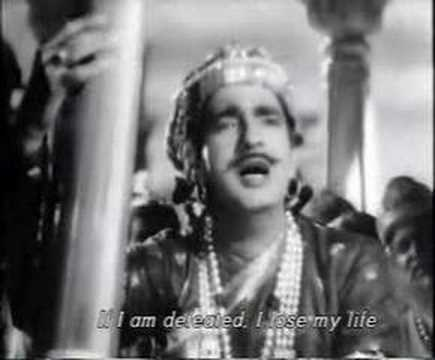 Aaj Gawat Mann Mero  - Baiju Bawra - English subtitles