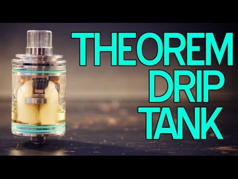 The Theorem Drip Tank ~ Wismec ~ SuckMyMod