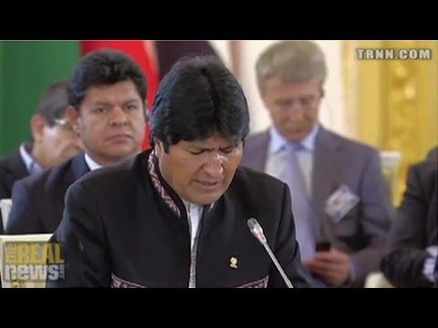 Bolivians Indignant at European Treatment of President Morales