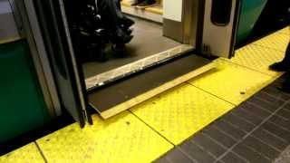 MBTA Green Line Type 8 - Deployment of Low Floor Wheelchair Accessible Ramp