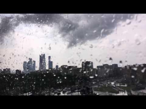 Буря гроза в Москве 30 июня 2017, таймлапс