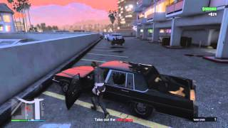 Grand Theft Auto V: Hold Up Burton