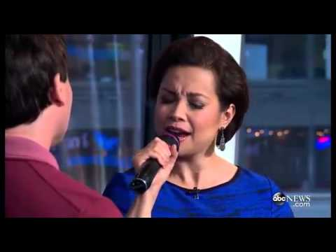"Lea Salonga & Brad Kane sing ""A Whole New World"" 